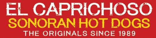 Hot Dogs El Caprichoso Logo
